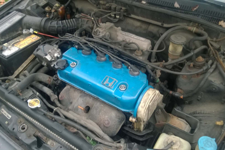 Potential CRX #5 - Engine Bay