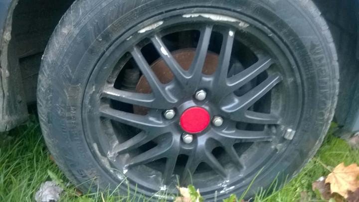 Potential CRX #5 - Integra Mesh Wheel