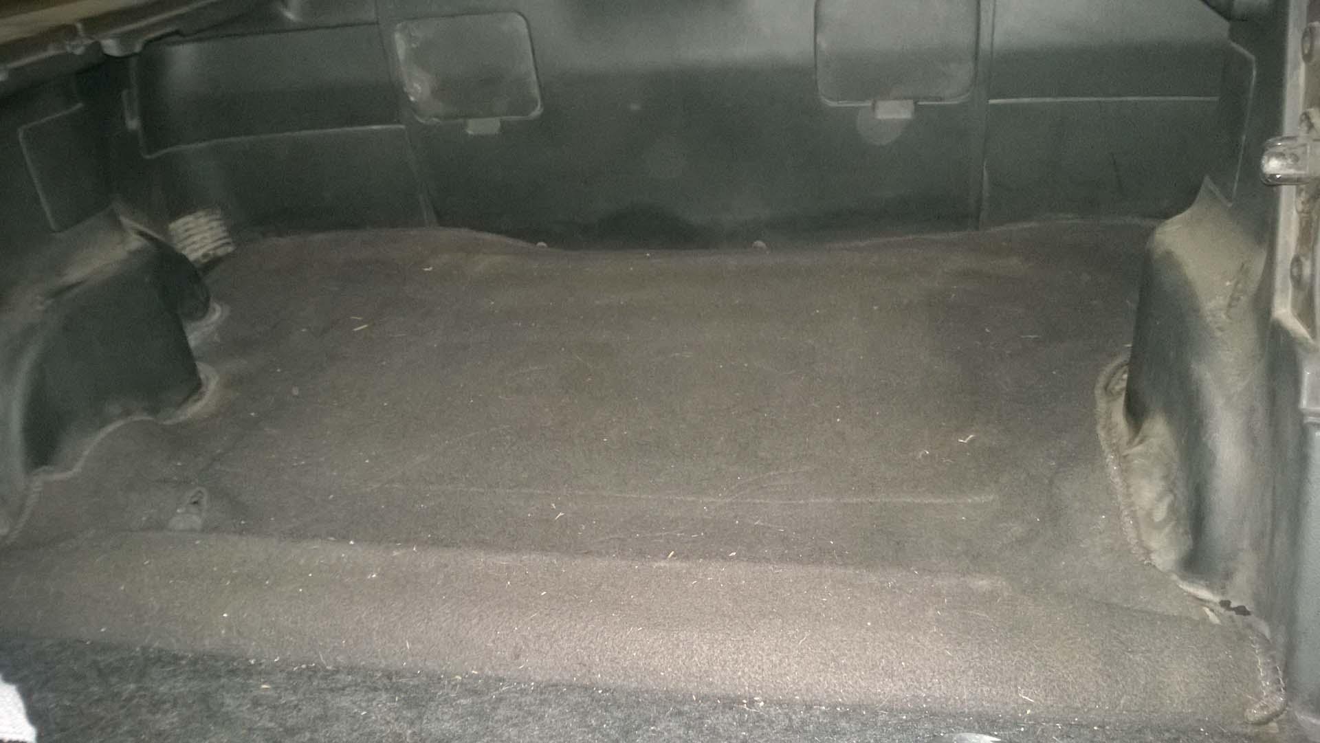 Rear Divider Removed