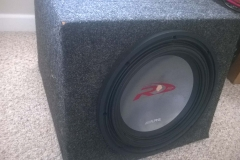Audio Equipment Removed