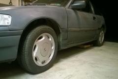 Original Si Wheels Installed