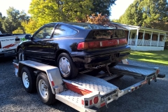 Towing the CRX