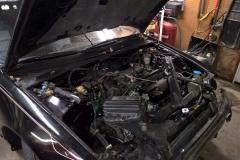Examining the Engine Bay