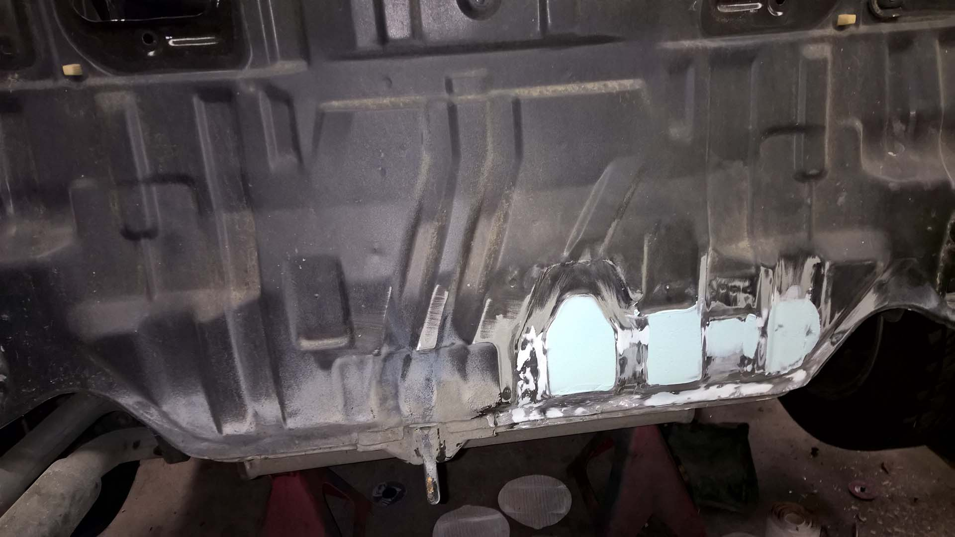 Rear Panel Repaired