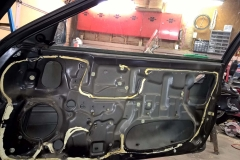 Passenger Door Card Removed