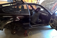 Before Removing the Passenger Side Quarter Panel