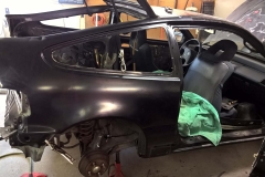 Passenger Side Quarter Panel Installed