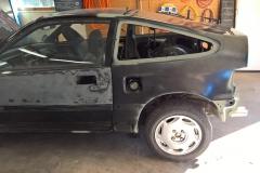 Driver's Side Quarter Panel Installation