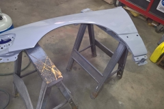 Second Coat of Primer Applied to Driver's Side Fender
