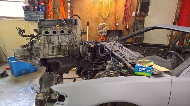 Removing the D16 Engine