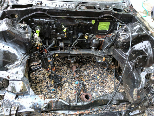 Engine Bay Power Washed