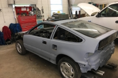 The 1988 CRX Before Paint