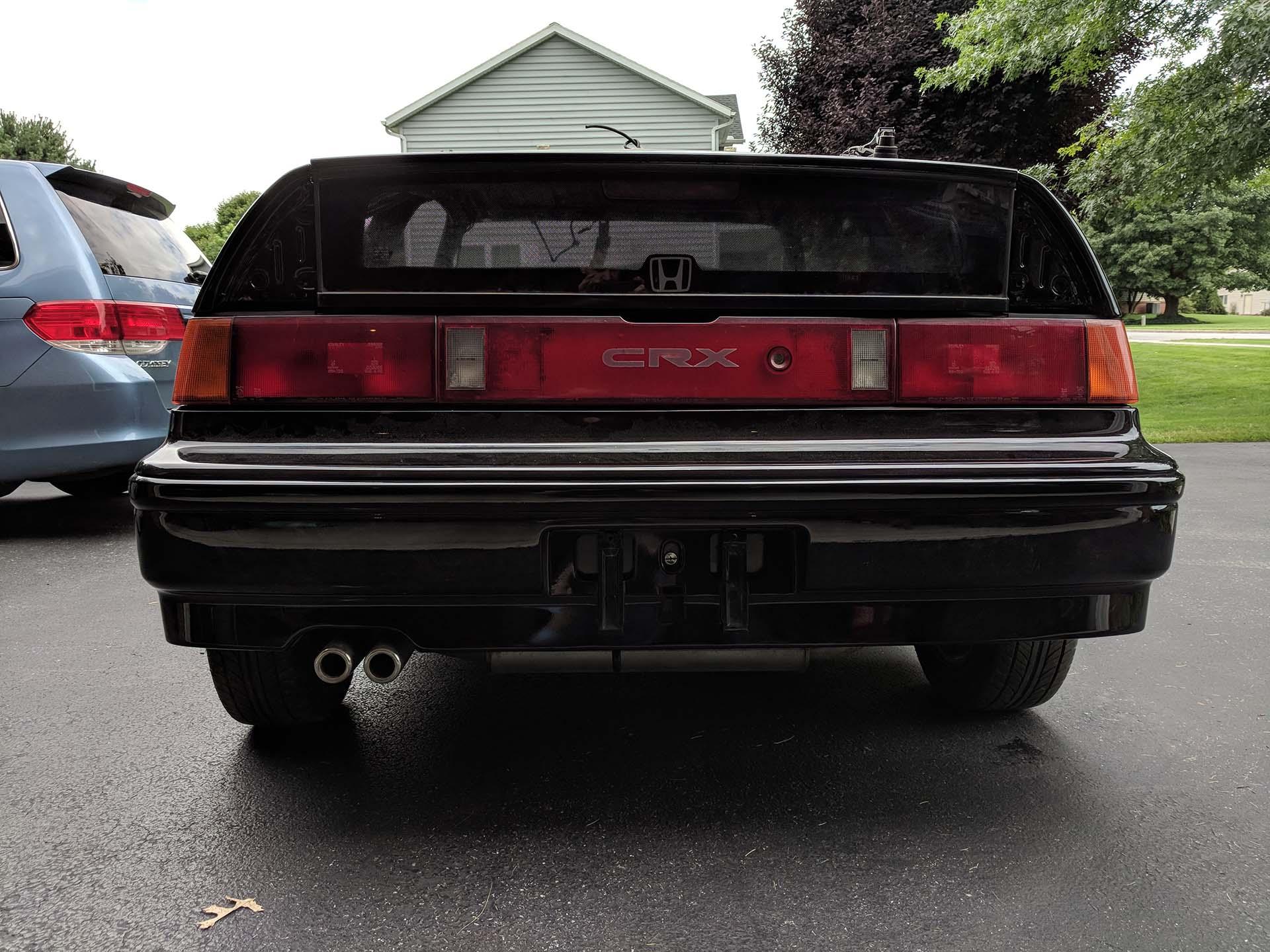 Rear Bumper Installation
