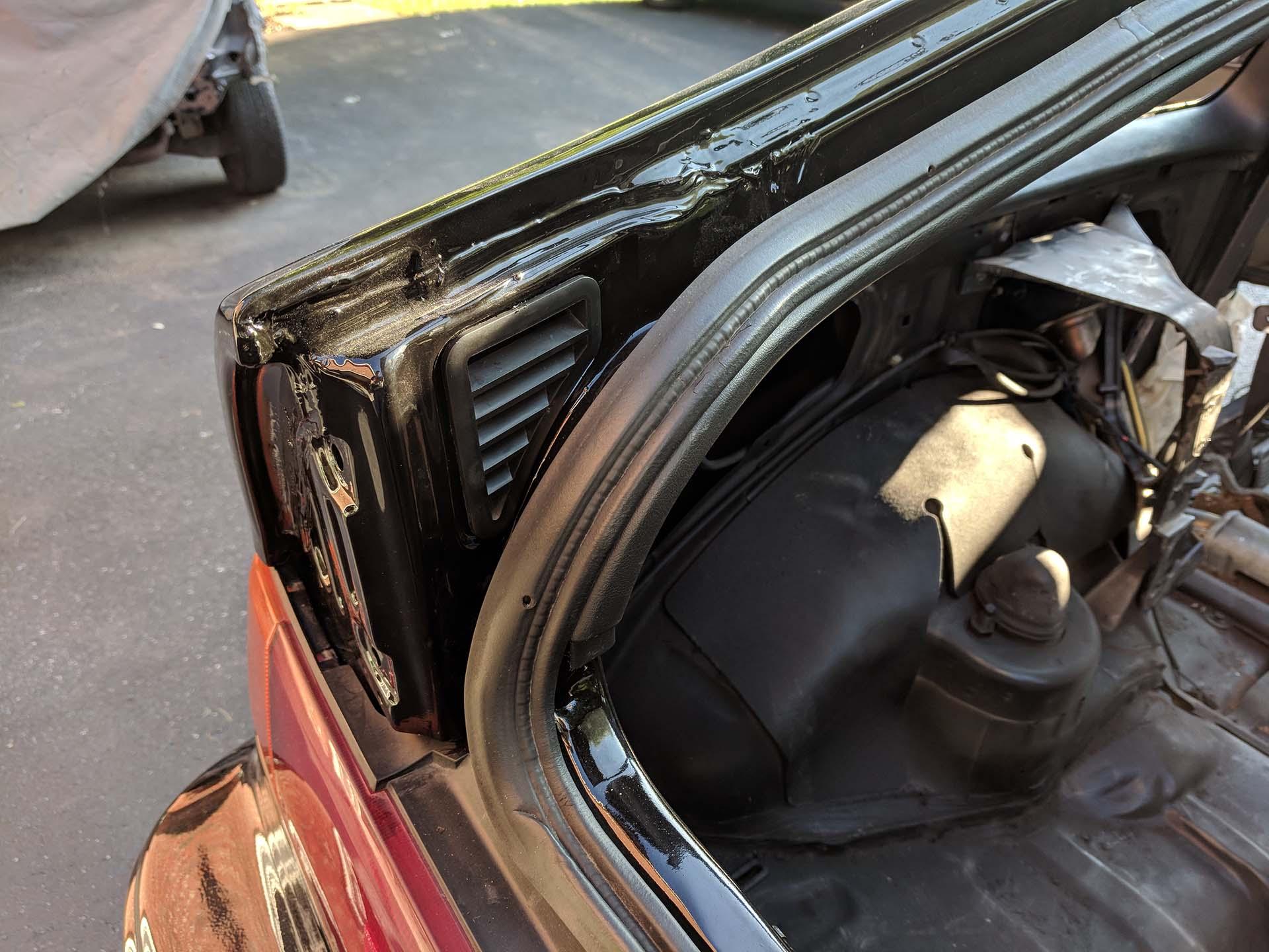 Rear Hatch Stripping