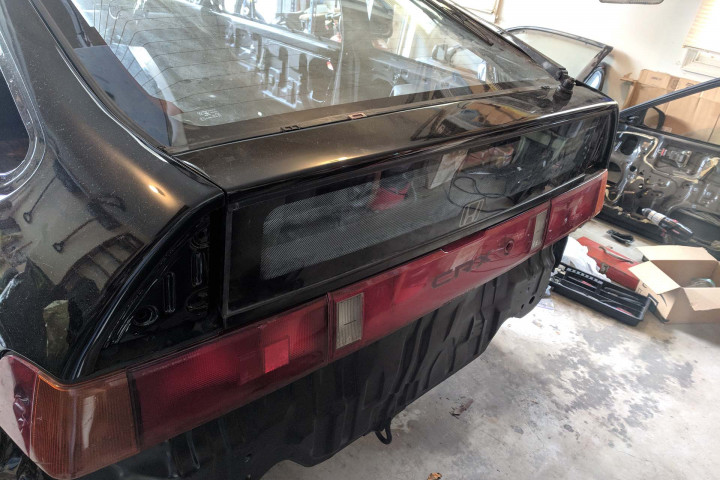 Tail Lights Fitted