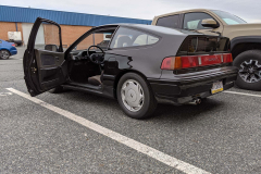 The CRX After the Transmission and Suspension Upgrades
