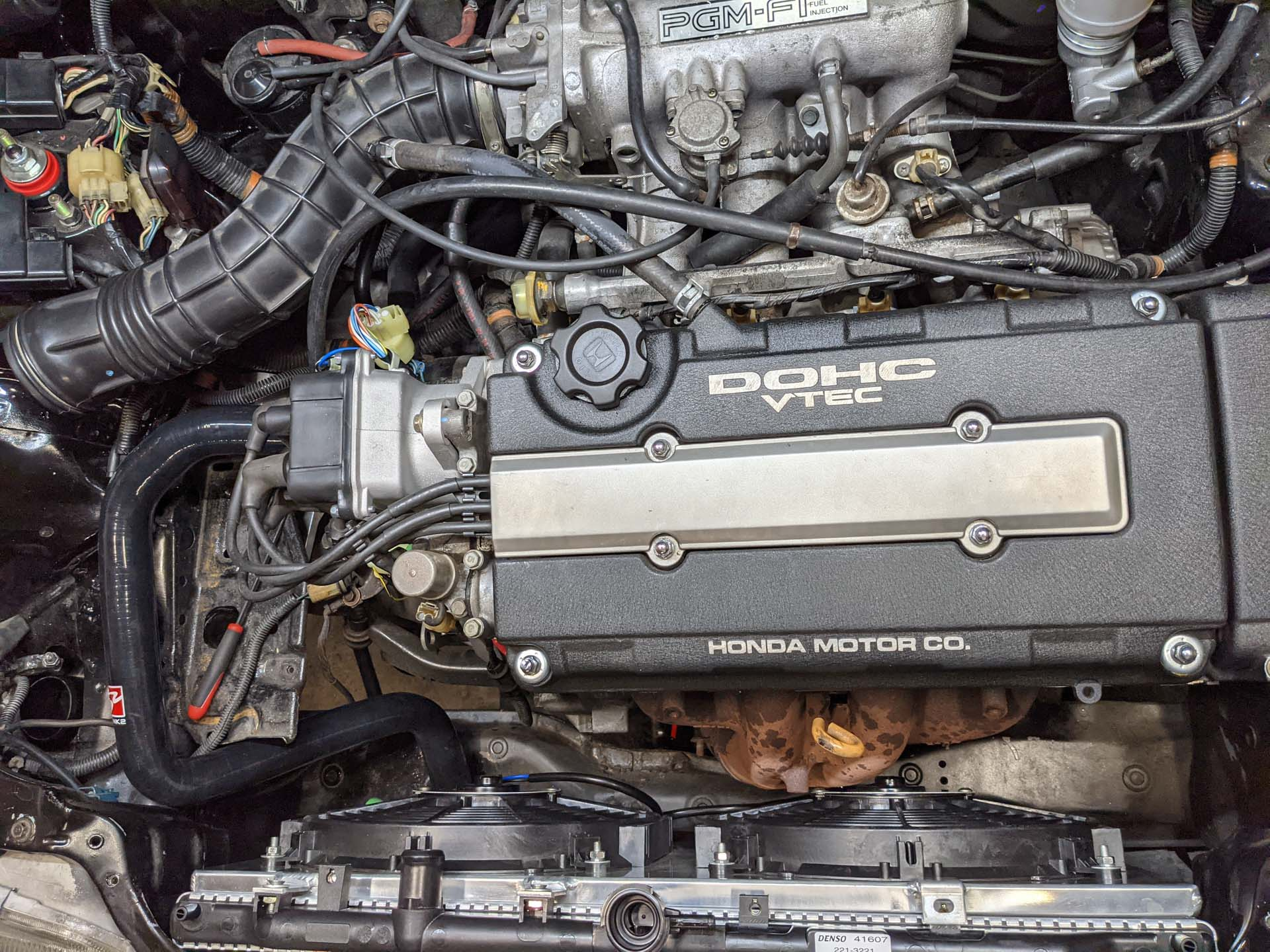 B16A manifold clearance issues