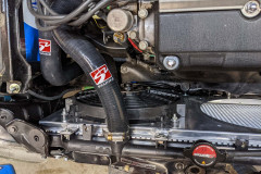 Skunk2 radiator hoses and OEM radiator installed