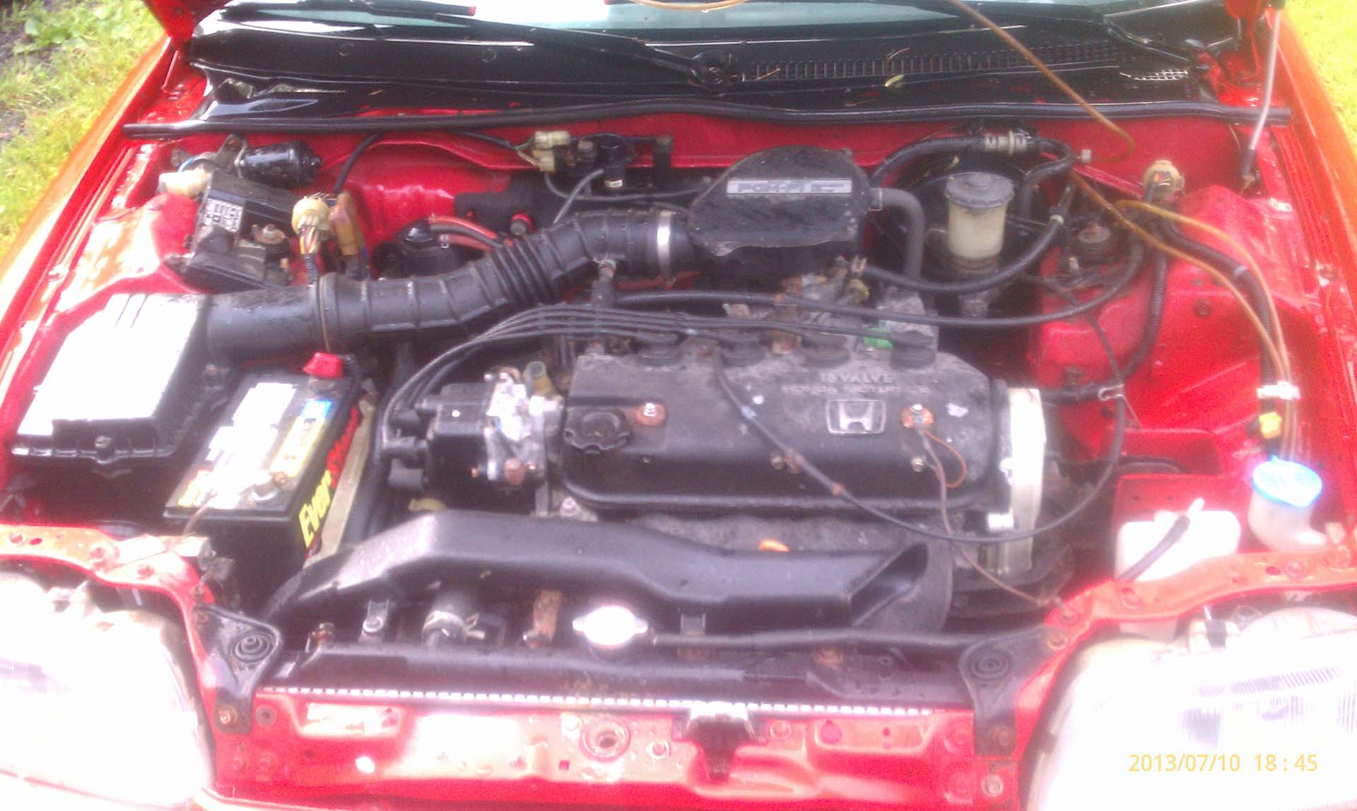 Potential CRX #1 - Engine Bay