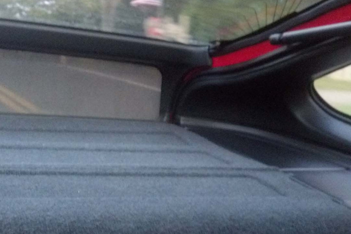 Potential CRX #1 - Rear Interior