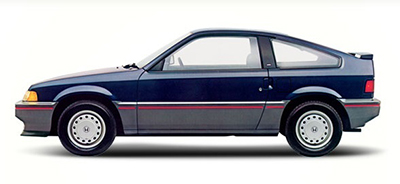 Honda CRX, First Generation, from 1984