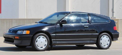 Honda CRX, Second Generation, from 1988